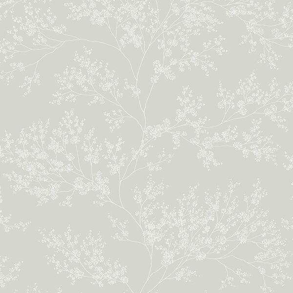 灰色花紋BloOmpapers西班牙AnneFreesiaGris6271302