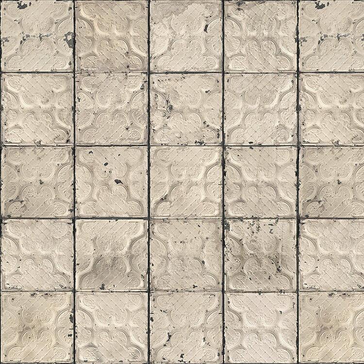 壁紙 荷蘭Brooklyn Tins by merci 磁磚 復古  / TIN-03 牆紙 (訂貨單位48.7cm×10m/卷)