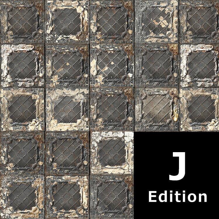 """壁紙  磁磚 復古磚  """"J Edition"""" / TIN-J7 牆紙 (訂貨單位48.7cm×10m/卷)"""