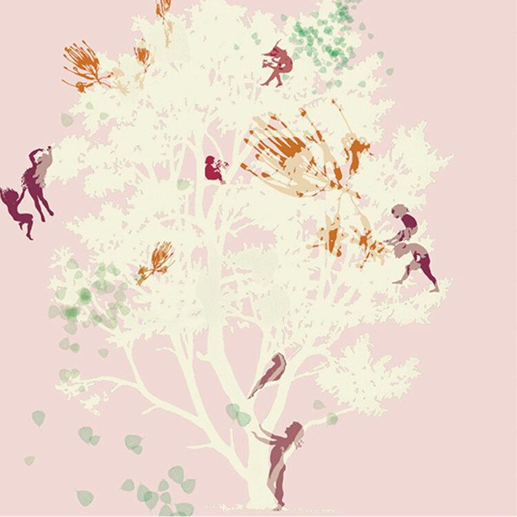 Elli Popp /  Fairy Tale Tree / PM133-02 壁紙 「訂貨單位位208cm×280cm/套(一套四張壁板)」