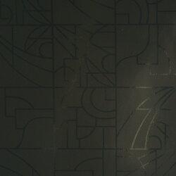 Flavor Paper STANLEY / Licorice On Black 壁紙 (訂貨單位68.58cm×13.7m/卷)