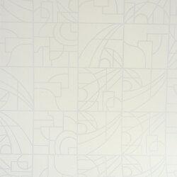 Flavor Paper STANLEY / Marshmallow On White 壁紙 (訂貨單位68.58cm×13.7m/卷)