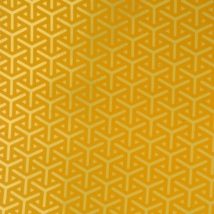 Flavor Paper VAPOR / Gold On Bright Gold 壁紙 (訂貨單位68.58cm×13.7m/卷)