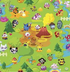 壁紙 英國 Graham & Brown / Moshi Mash Up Multi-coloured 70-241 牆紙 (訂貨單位52cm×10m/卷)