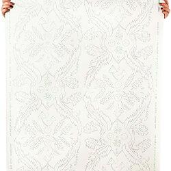 JUJU Papers / Salad Days / Quartz and Celadon on Cream 壁紙 (訂貨單位68.58cm×914cm/卷)
