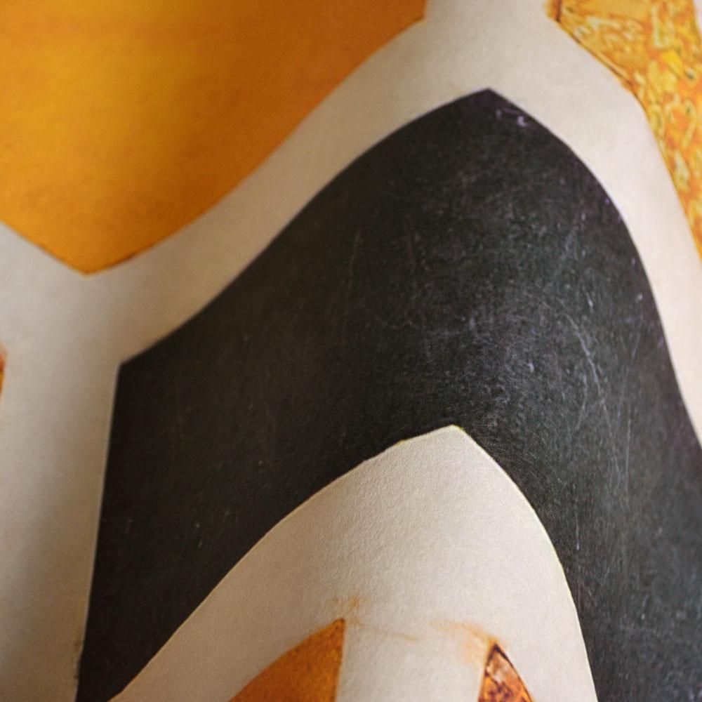 幾何圖形壁紙 幾何形  黃色 異國風  Mind the Gap  /  WP20259 2