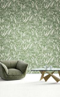 壁紙屋本舖:綠色壁紙和風日式壁紙Quercus&Co.澳大利亞進口壁紙TheSuketchiCollectionWindsweptMossWPWIN-187