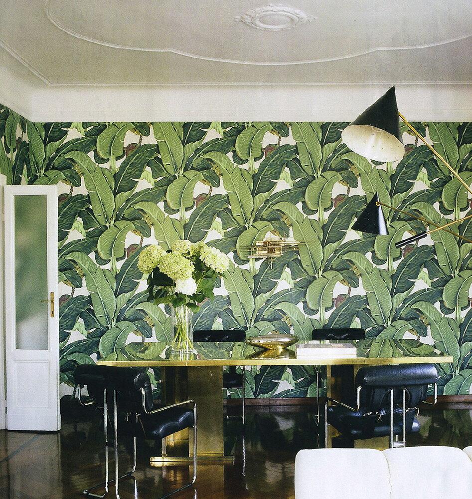 Beverly Hills Wallpaper / Martinique 壁紙 (訂貨單位68.58cm×13.7m/卷)