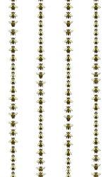 Timorous Beasties / Wild Honey Bee Stripe / WH/BPRL/03 壁紙 (訂貨單位52cm×10m/卷)
