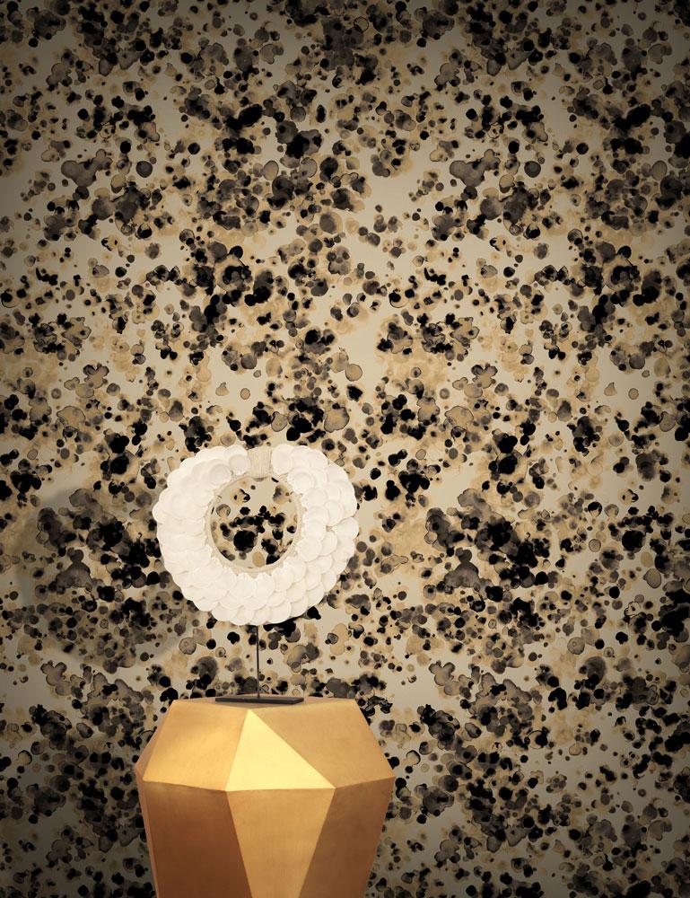 FEATHR  /  Machair Sepia 壁紙 (訂貨單位50cm×10m / 卷) 0