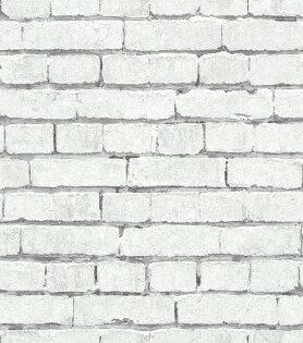 白色文化石壁紙磚纹磚塊rasch(德國壁紙)2019441109