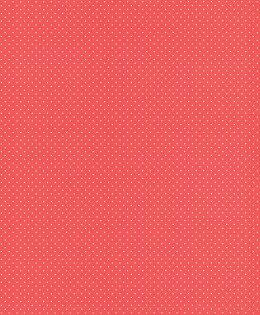 紅底白色圓點紋壁紙女生房女孩房rasch(德國壁紙)2019442311