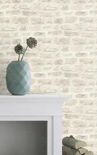 文化石壁紙磚紋磚塊壁紙rasch(德國壁紙)2019860603
