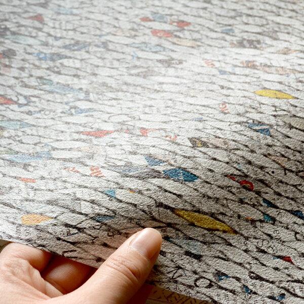 新聞紙編織紋rasch(德國壁紙)2019862300