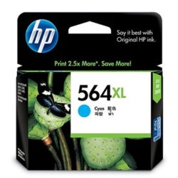【HP 墨水匣】HP CB323WA #564XL藍色大容量墨水匣