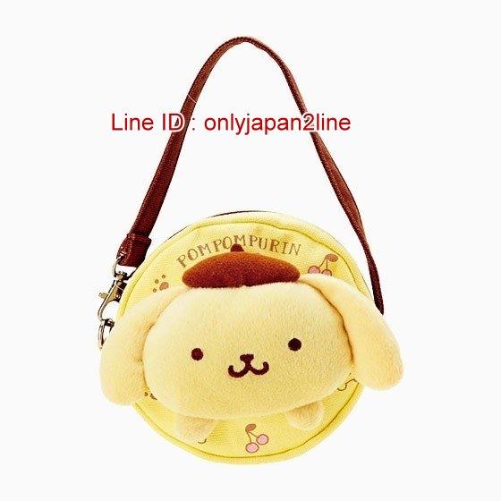 【真愛日本】17011900018立體造型手提掛袋包-PN黃   三麗鷗家族 布丁狗  提包 側背包 童用
