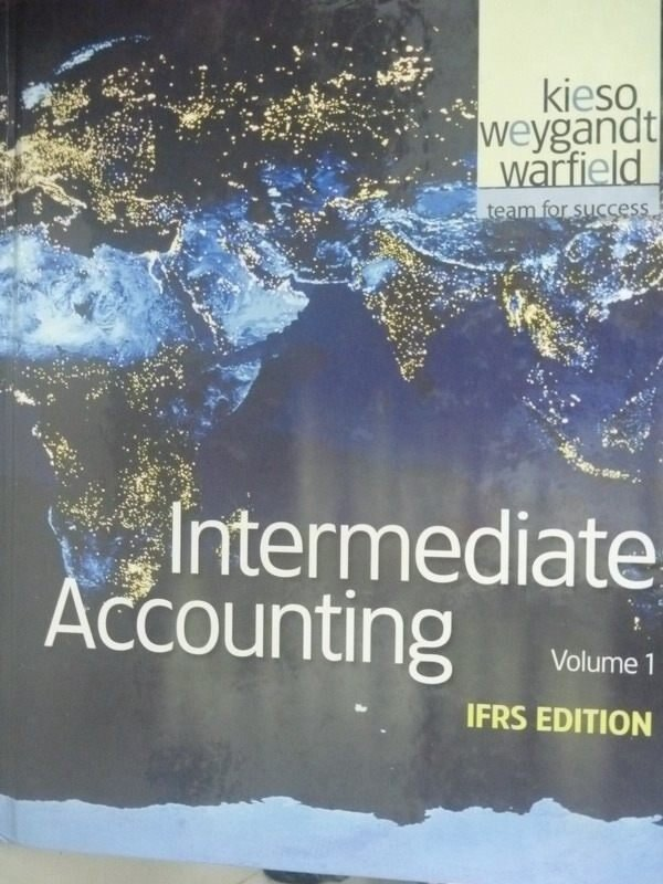 ~書寶 書T2/大學商學_PLA~Intermediate Accounting: IFR