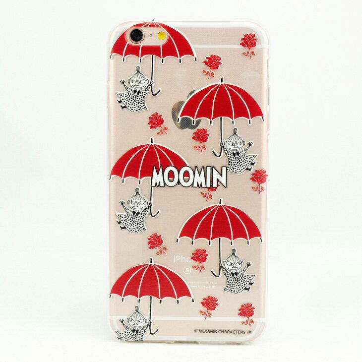 Moomin嚕嚕米正版授權 - TPU手機保護殼:【 小紅傘 】《  iPhone/Samsung/HTC/ASUS/Sony/LG/小米/OPPO 》