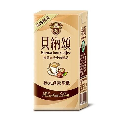 貝納頌咖啡-榛果風味拿鐵375ml*24【愛買】