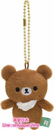【真愛日本】16092200027棉柔螢幕擦吊飾-蜂蜜熊站姿  懶懶熊 牛奶熊 拉拉熊 絨毛手指偶