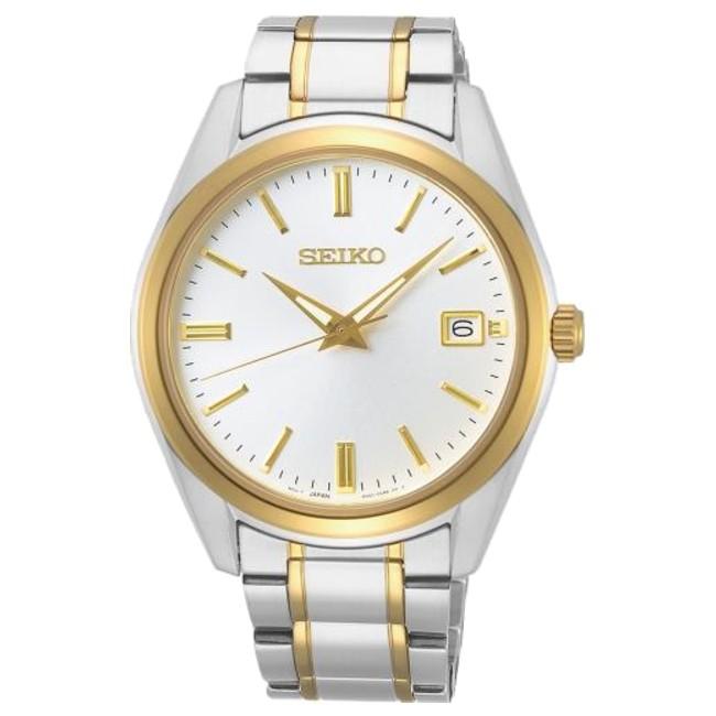 Seiko 精工表 6N52-00A0KS(SUR312P1) 經典簡約紳士男腕錶/白 39mm