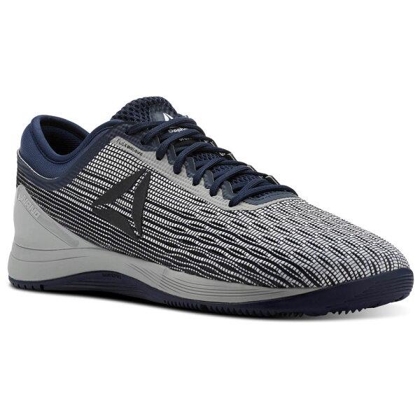 REEBOKCROSSFITNANO8男鞋健身訓練休閒編織透氣藍灰【運動世界】CN1037