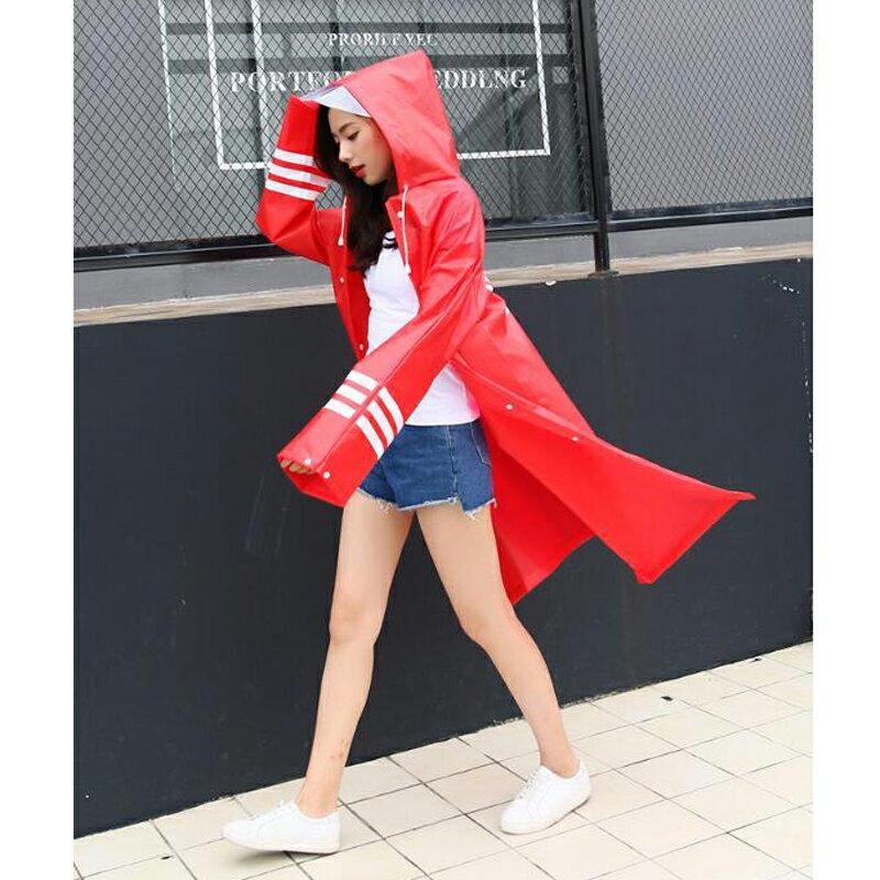 現貨 韓版潮流雨衣 潮牌個性 大衣長版 加大尺碼街頭嘻哈情侶雨披 披風雨衣 超酷 年輕人男生女生情侶時尚雨衣 1