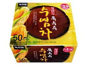有樂町進口食品 韓國人氣商品 綠茶園玉米鬚茶 50入 J115 881767333569