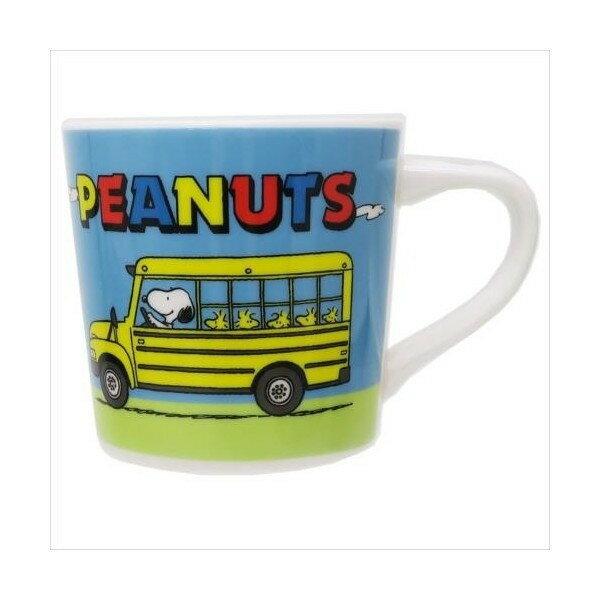18080800003 馬克杯-SN公車塔克 史努比 snoopy 史奴比 馬克杯 水杯 杯子 食器 日用品 真愛日本