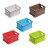 疊疊樂(S) / 拼接手提桌面收納籃 / 桌上整理盒 / 分類架 / 床底置物盒 / 儲物箱 / 公文櫃 / 衣櫥組合櫃 / 露營野餐籃 / 耐重 / 加厚 / DIY / 可堆疊 / 大容量 / MEMYDO 米麥豆 / STACK STORAGE CRATE(S) / PC-23 0