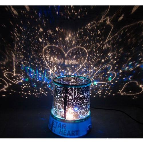 投影儀音樂星空燈 自動旋轉丘比特戀人