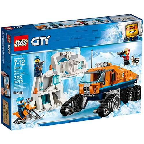 樂高LEGO 60194  CITY 城市系列 - 極地巡邏車 - 限時優惠好康折扣