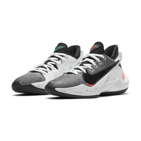 【領券最高折$250】【NIKE】FREAK 2 GS 運動鞋 字母哥 籃球鞋 黑灰白 大童 -CW3227101