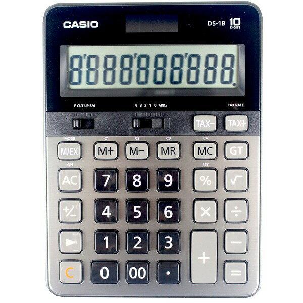 CASIO卡西歐 DS-1B 商用專業型10位計算機/一台入 促[#1500](原DS-1TS)桌上型計算機