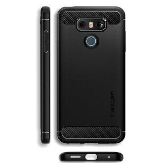 Spigen LG G6保護殼碳纖維紋手機殼矽膠套軟殼加強防摔外殼新款潮
