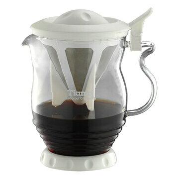 金時代書香咖啡  Tiamo 極細濾網 分享壺 350ml  HG1970 - 限時優惠好康折扣
