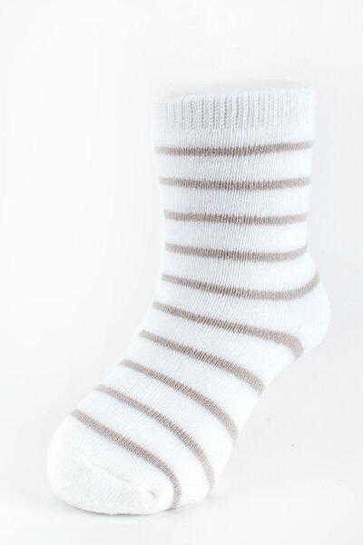 【金安德森】嬰兒全毛巾條紋短襪
