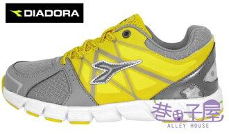 【巷子屋】義大利國寶鞋-DIADORA迪亞多納 男童瓢蟲飛輕量慢跑鞋 [2713] 黃 超值價$498