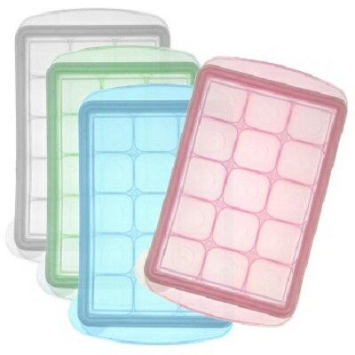 韓國JM Green新鮮凍副食品冷凍儲存分裝盒15g-M(15格)(4色隨機出貨)