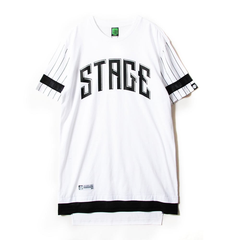 STAGE UNLIMITED WIDE SS TEE 黑色 / 白色 兩色 6