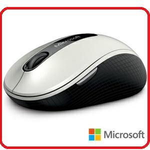 微軟 D5D-00013 無線行動滑鼠 4000 - 白