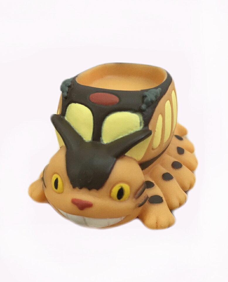 【真愛日本】15061300013指套娃娃-貓公車痴笑 龍貓 TOTORO 豆豆龍 公仔 擺飾 收藏 玩具 正品 限量