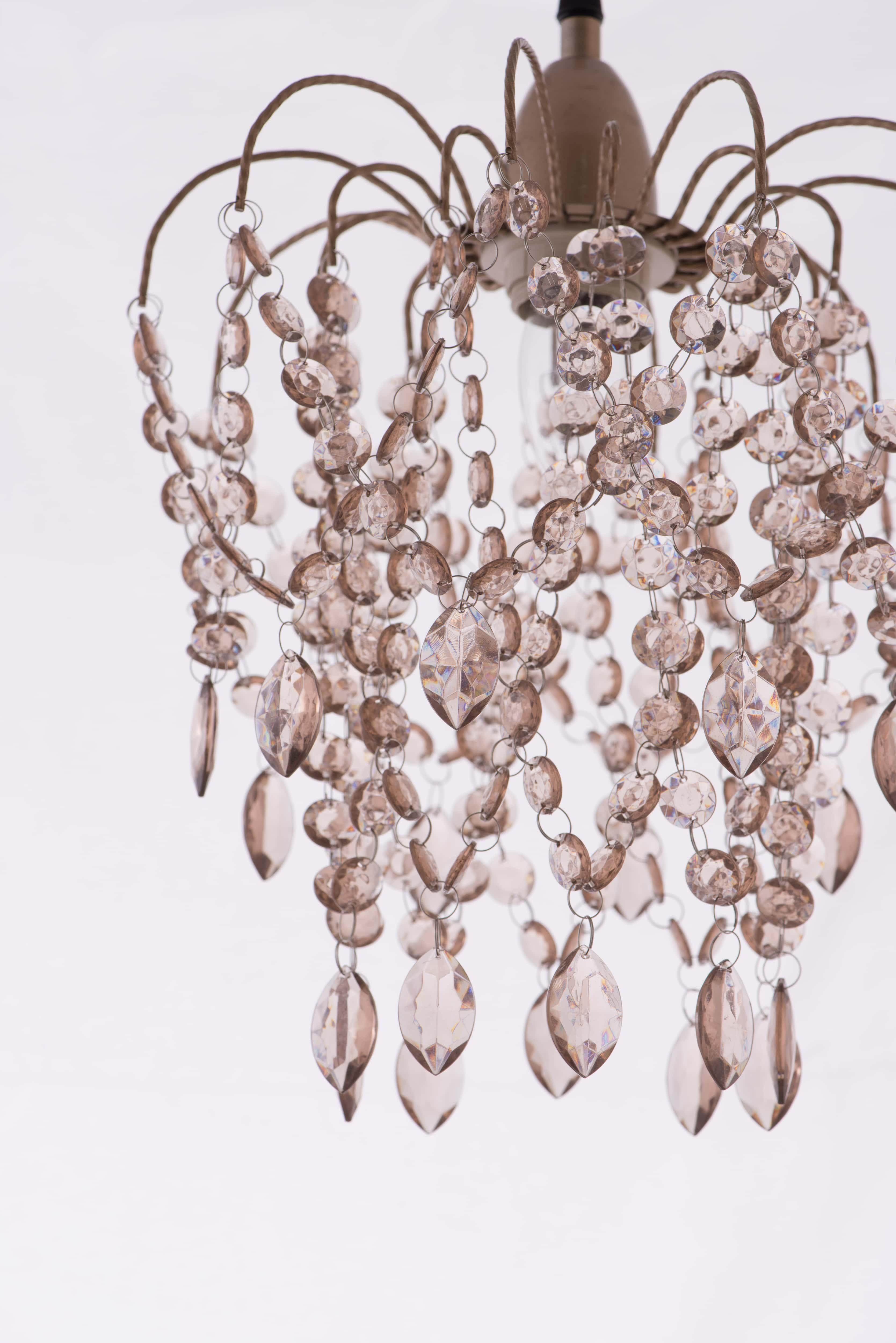 玫瑰金壓克力珠吊燈-BNL00047 4