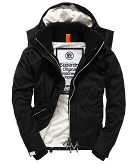極度乾燥 Superdry Pop Zip Hooded Arctic 白色內裡黑色外套 防風外套 男款 舊標