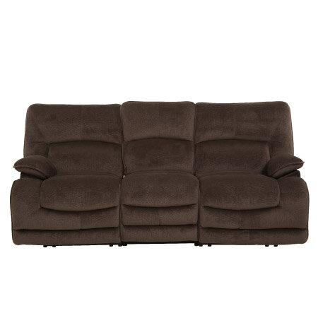 ◎布質3人用電動可躺式沙發 HIT DBR NITORI宜得利家居 1