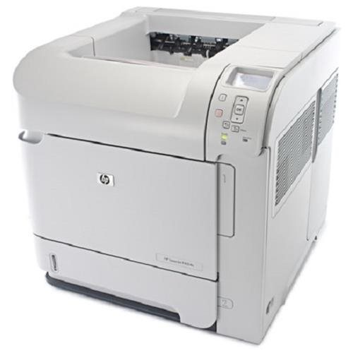 HP LaserJet P4014N Laser Printer - Monochrome - 1200 x 1200 dpi Print - Plain Paper Print - Desktop - 45 ppm Mono Print - Letter, Legal, Executive, Statement, Com10 Envelope, Monarch Envelope, Custom Size - 600 sheets Standard Input Capacity - 175000 Duty 1