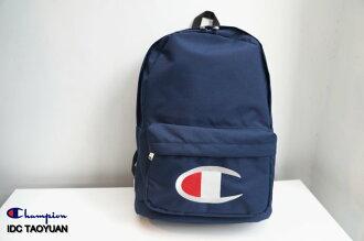 ►法西歐 桃園◄ Champion Logo Backpack 日版 尼龍 電繡 Logo 後背包 白 深藍 黑色 三色 深藍