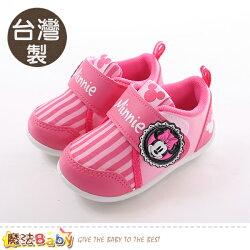 寶寶鞋 台灣製迪士尼米妮正版女童止滑鞋 魔法Baby~sk0385