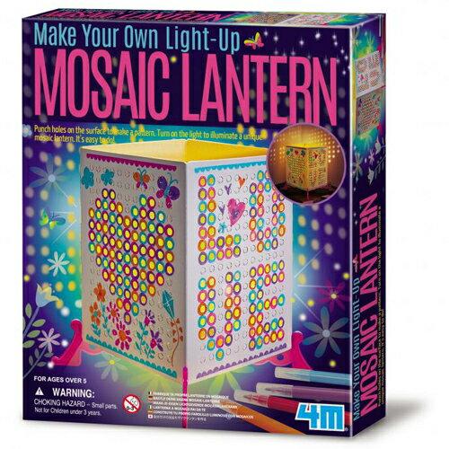 ~ 4M 美勞創作~Mosaic Lantern 馬賽克燈籠