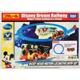 【 TAKARA TOMY 】Disney x PLARAIL 迪士尼鐵道入門組 - 米奇